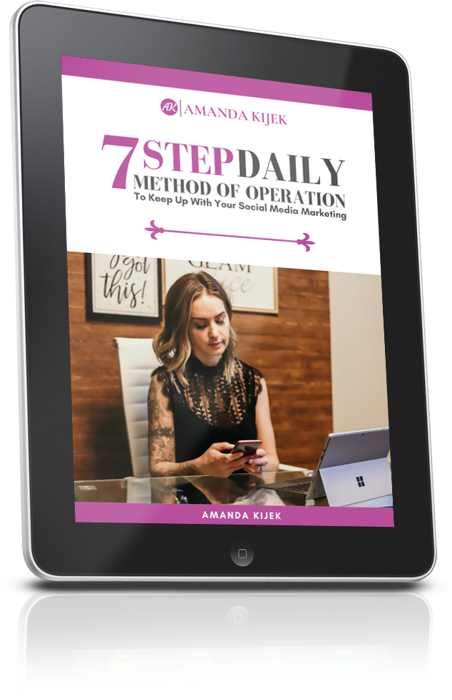 7 STEP DAILY METHOD OF OPERATION