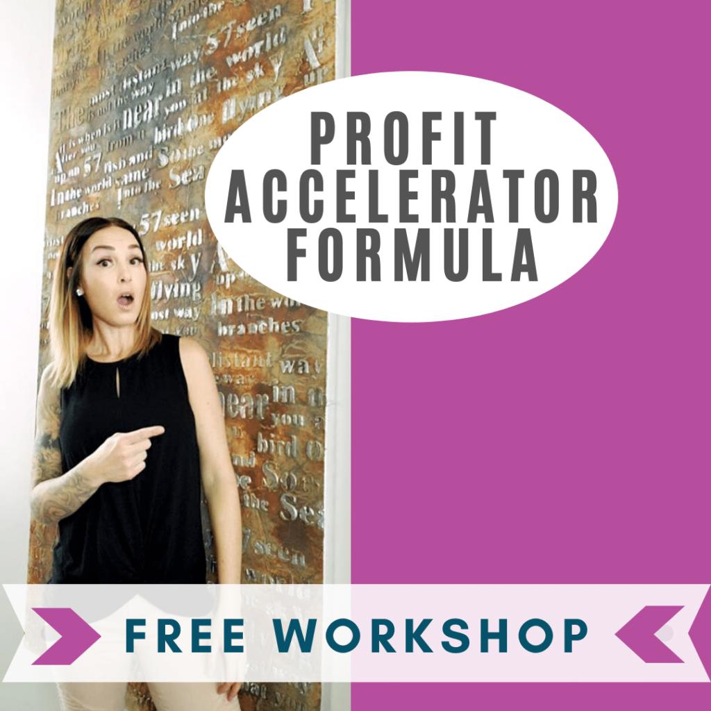 profit accelerator formula